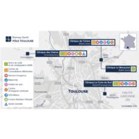 Carte Pôle Toulouse