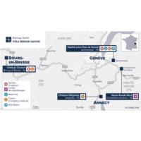 Carte Pôle Bresse Savoie