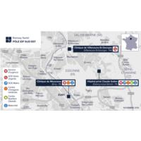 Carte Pôle IDF Sud-Est