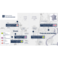 Carte Pôle Bourgogne