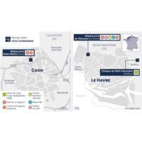 Carte Pôle Caen