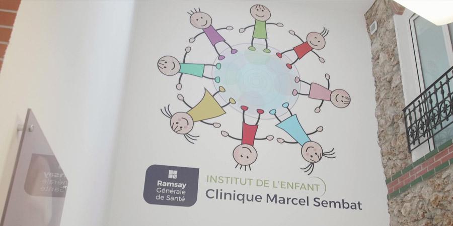 Ramsay Générale de Santé inaugure le 1er Institut de l'Enfant de France à la Clinique Marcel Sembat de Boulogne-Billancourt (92)