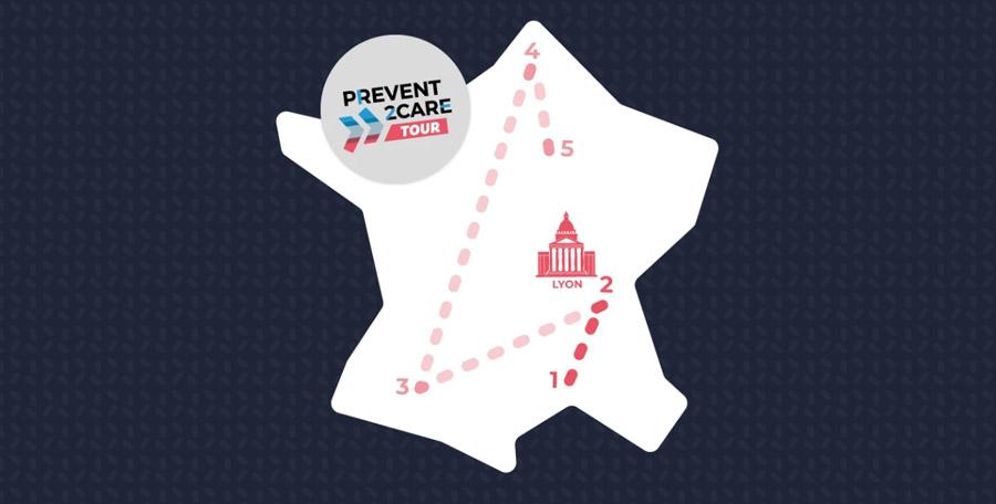 Le Prevent2Care Tour lance un appel à projets en prévention santé auprès des associations de la région Auvergne Rhône-Alpes