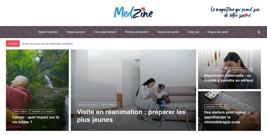 Ramsay Santé annonce le lancement de MedZine, son site d'information santé