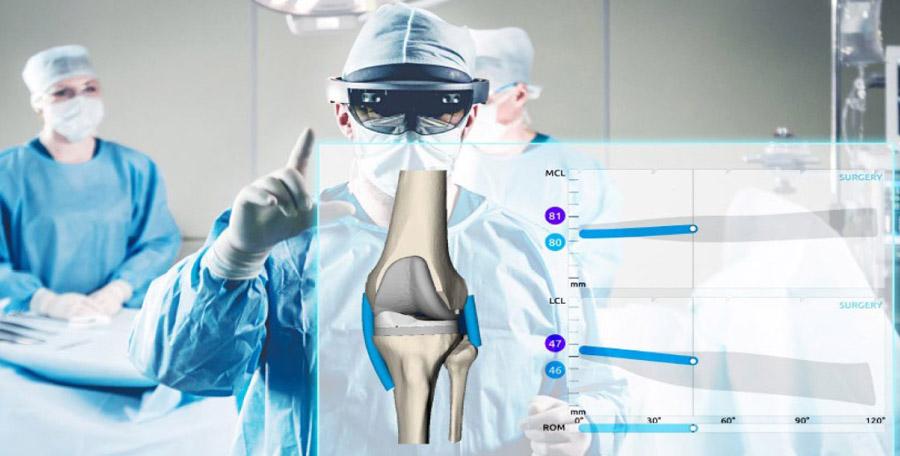 Une première régionale à la Clinique de l'Union : la chirurgie du genou en réalité augmentée