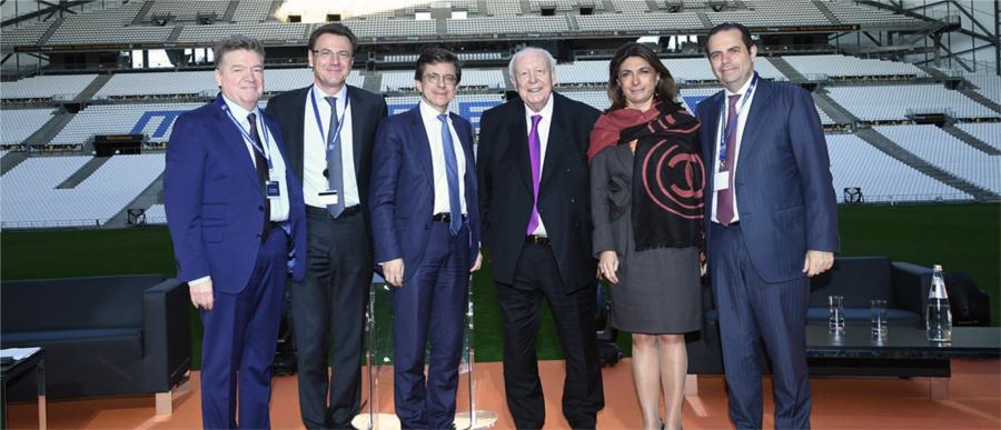 Inauguration de la Clinique Monticelli-Vélodrome à Marseille