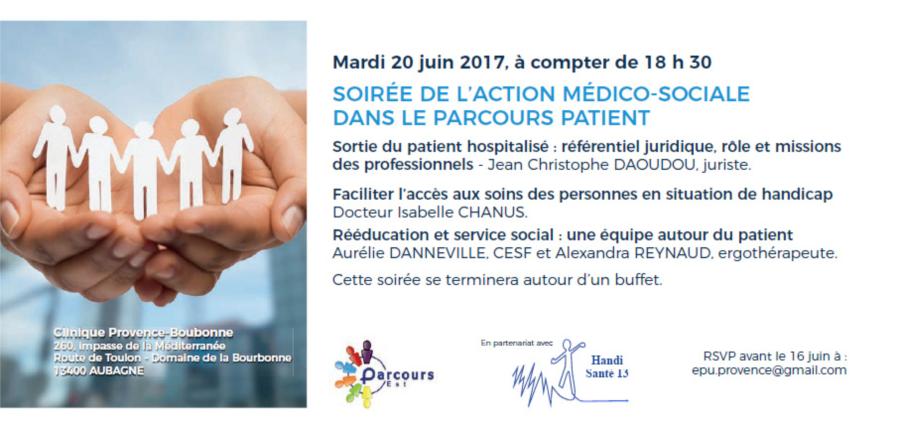 Clinique Provence-Bourbonne : action médico-sociale